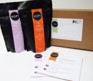 Kopi box and bag